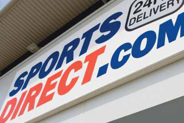 Sports Direct: acquires stake in designer clothing chains