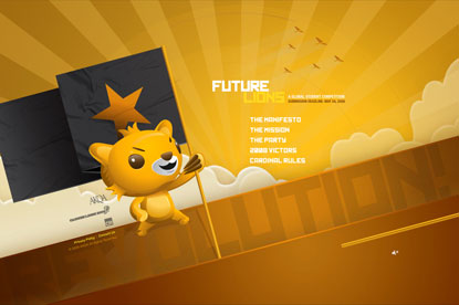 Future Lions... 2009 launch