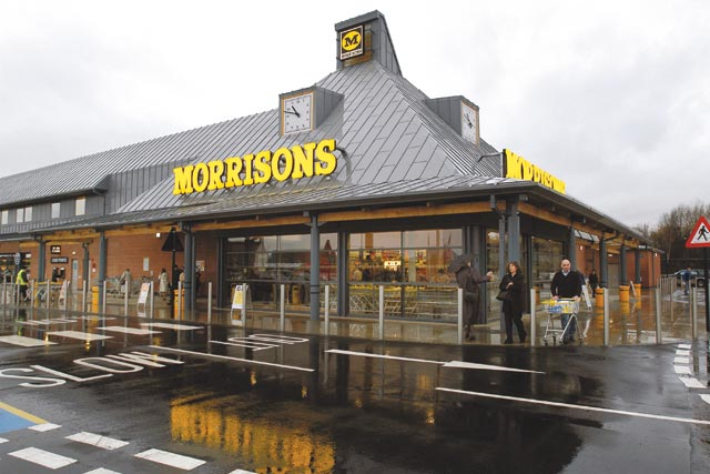 Morrisons: has plans to introduce clothing lin