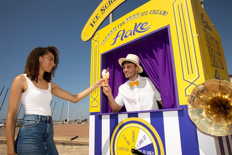 Cadbury: challenges ice-cream lovers to scream their hearts out