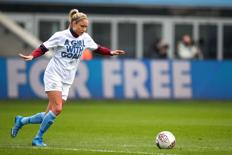 WSL: Steph Houghton ahead of Manchester City WFC vs Everton FC (women) (Getty Images)