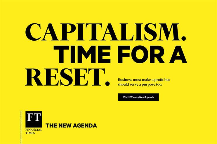 Financial Times: 'The new agenda'