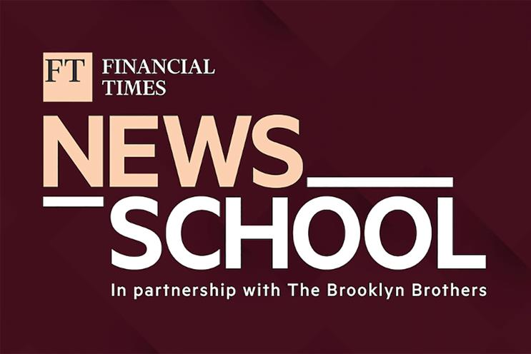 News School: includes instructors from the FT, Guardian, Spotify and more
