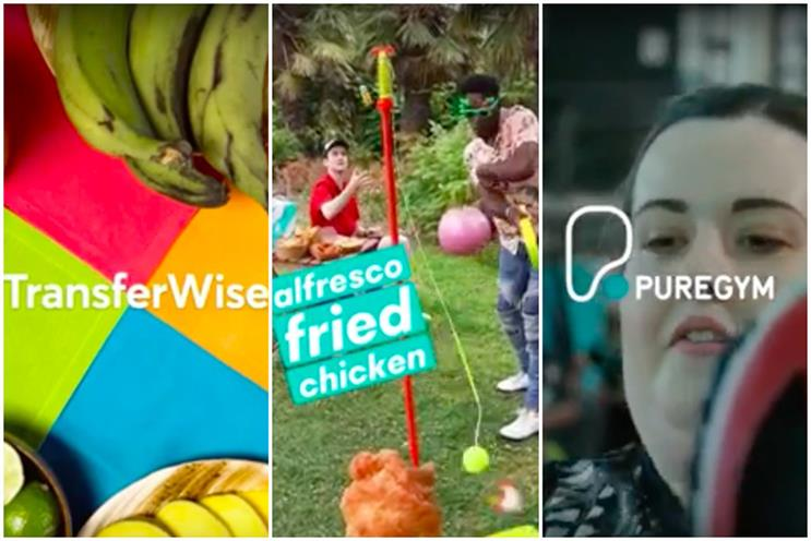 Facebook Stories has been testing ads with TransferWise, Deliveroo and PureGym