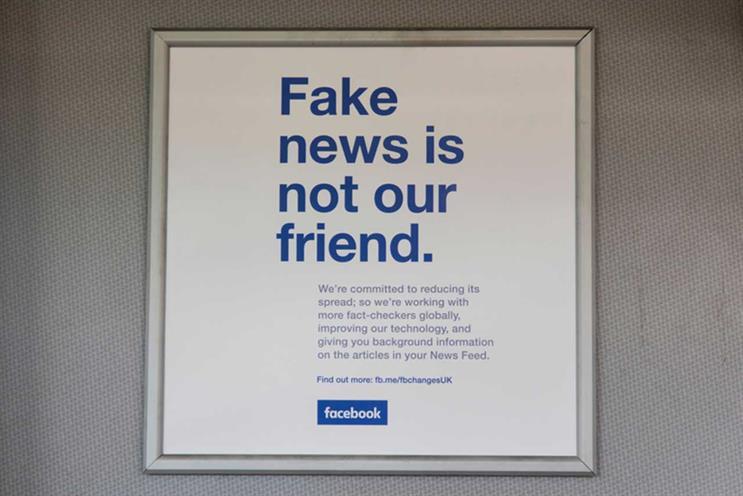 Facebook: campaign in 2018