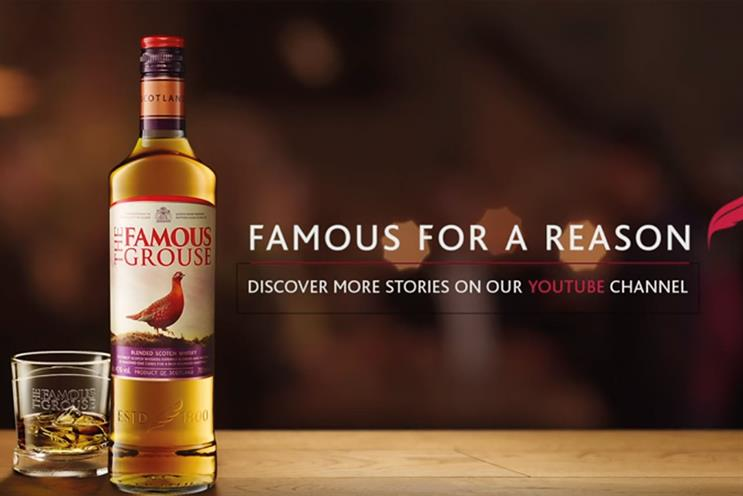 The Famous Grouse: reviewing its international media requirements