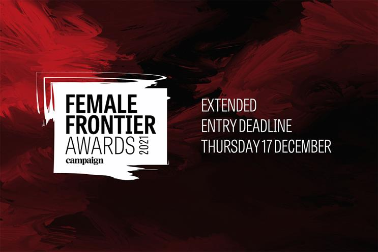 Female Frontier Awards: second year that Campaign has run them in the UK