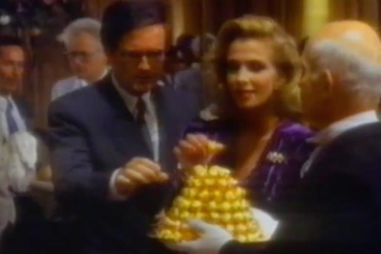 Ferrero Rocher: the 'Ambassador's reception' TV spot is probably Ferrero International's best-remembered ad