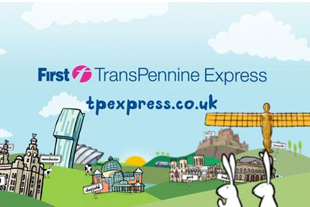 First TransPennine Express: WCRS handles advertising