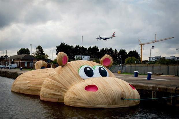 Hippopothames to appear at family festival