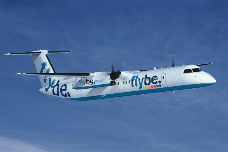 Flybe kicks off pitch for £7m creative account