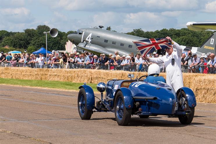 Flywheel: the Bicester Heritage-hosted event is joining forces with Haymarket's Classic & Sports Car