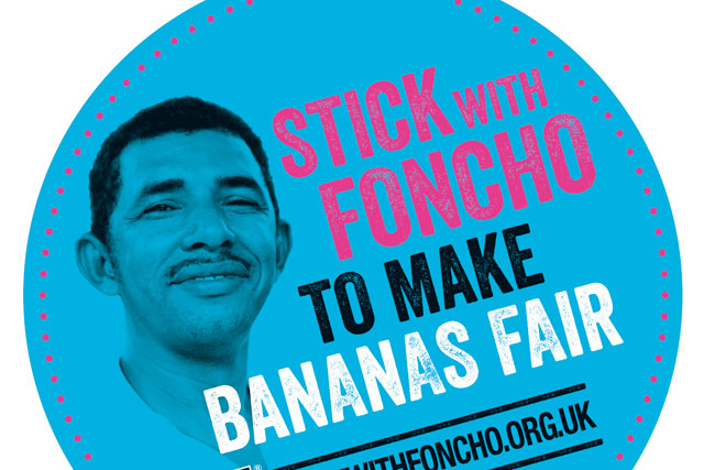 Fairtrade Fortnight: banana farmer Foncho Cantillo is the face of this year's campaign