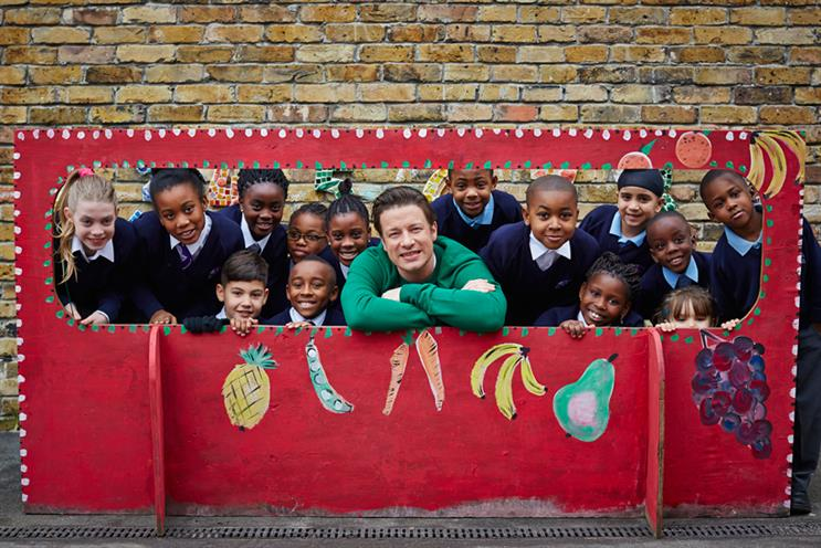 Jamie Oliver leads the annual Food Revolution Day campaign