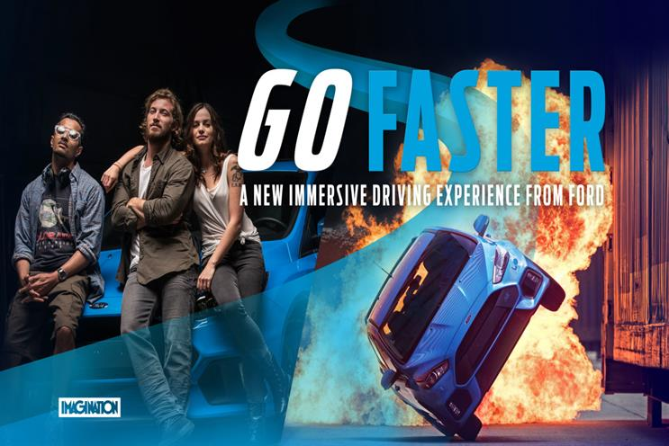Movie magic: Ford's Go Faster campaign