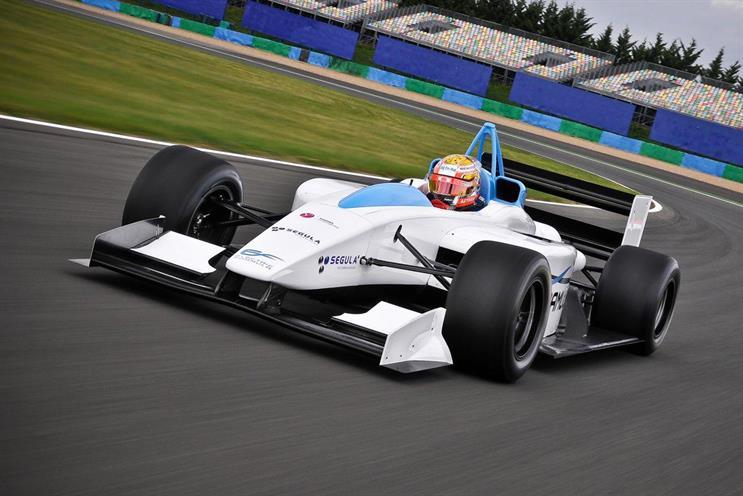 Dare lands Formula E motor-racing account