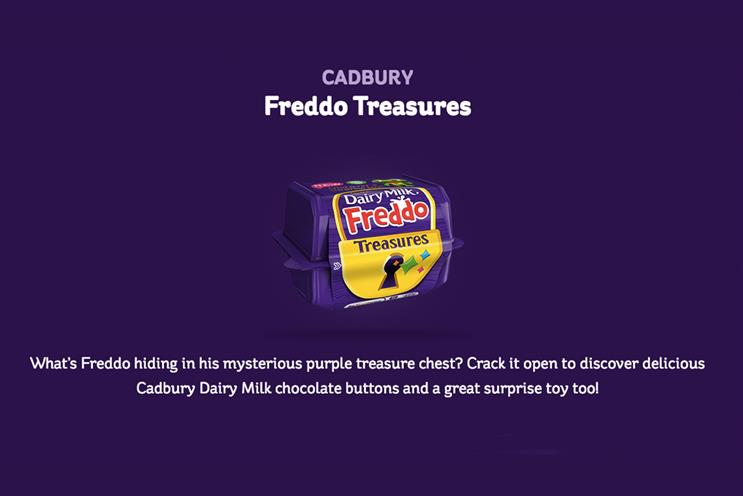 Cadbury updates Freddo Treasures campaign following backlash