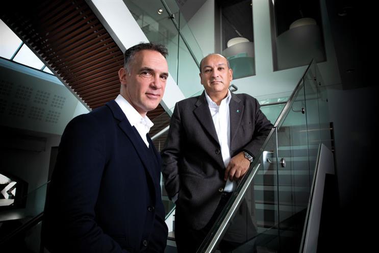 James Freedman (left) and Sanjiv Gossain