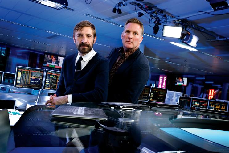 Teeman (l) and Freeman: after six months of planning, the duo will roll out Bloomberg Business across multiple platforms in the US and UK