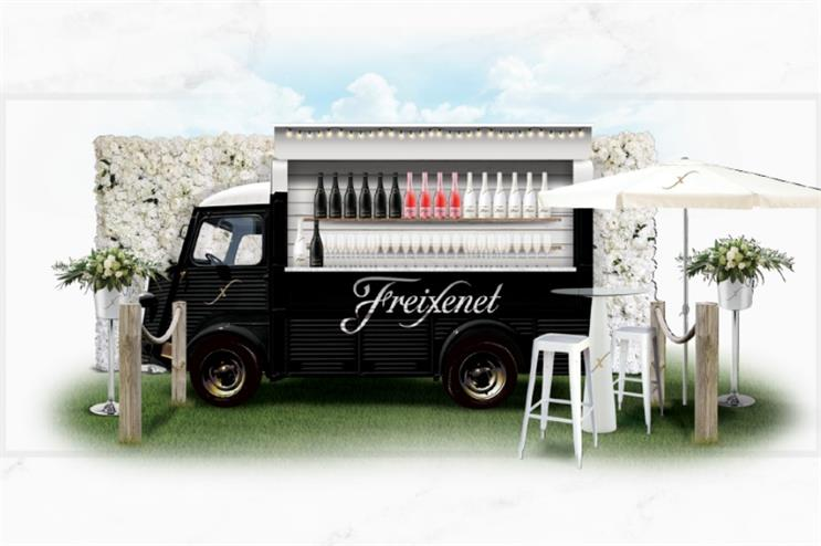 Freixenet to stage sampling activity at Bestival