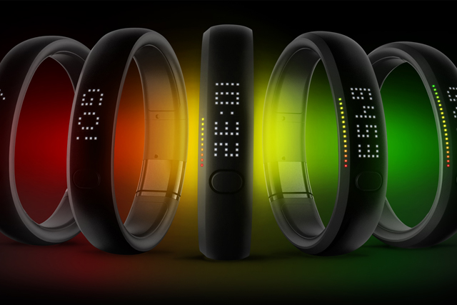 Nike's FuelBand system allows users to monitor their activity levels