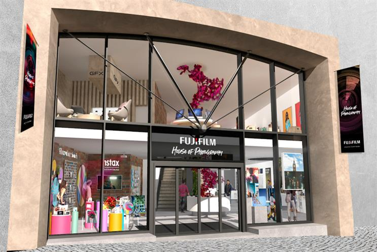 Fujifilm: store will have dedicated exhibition space