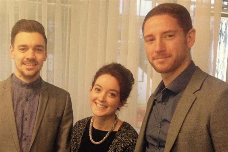 Martin Doyle, Lauren Coombs and Jon Chambers: all appointed to the role of associate director