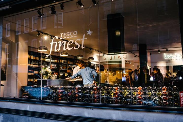 Tesco: preparing to launch Finest bar