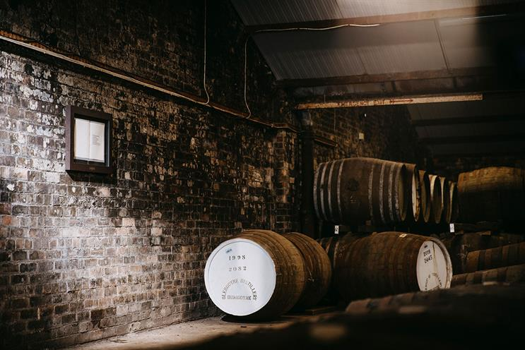 Glengoyne Whisky Distillery: art will be on show globally and its distillery