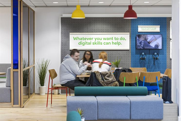 Google opens third digital training space