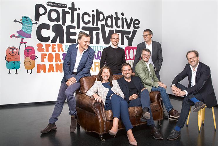 Standing (l-r): Hartmut Kozok, DanielDolezyk and Tobias Clairmont. Seated (l-r): Stefanie Kuhnhen, RalfHeuel, Thomas Eickhoff and ReinhardPatzschke