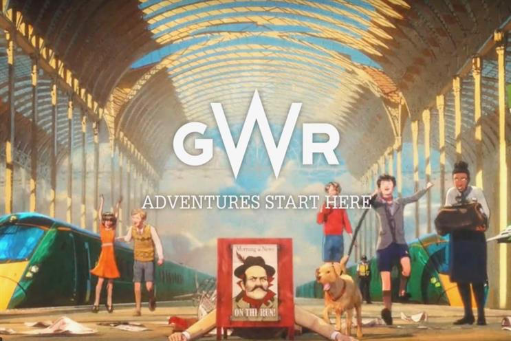 GWR: one of FirstGroup's rail operating companies