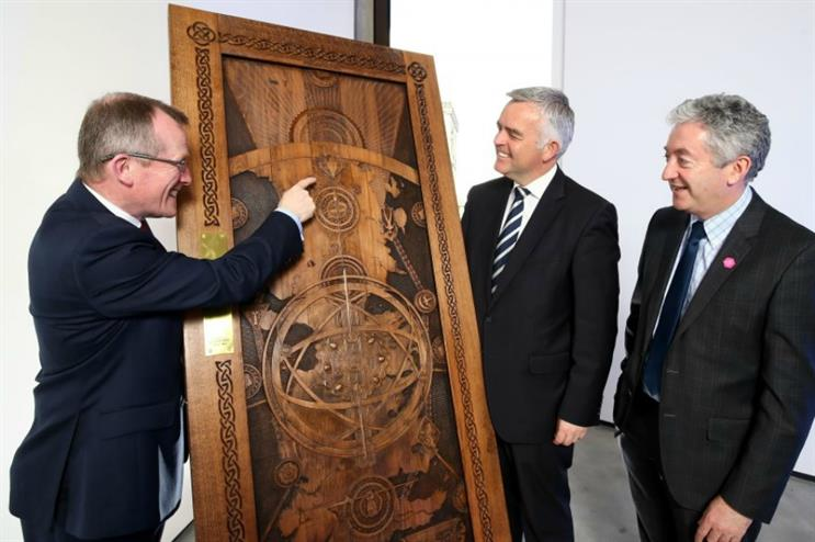 The first door was unveiled following the premiere of season six