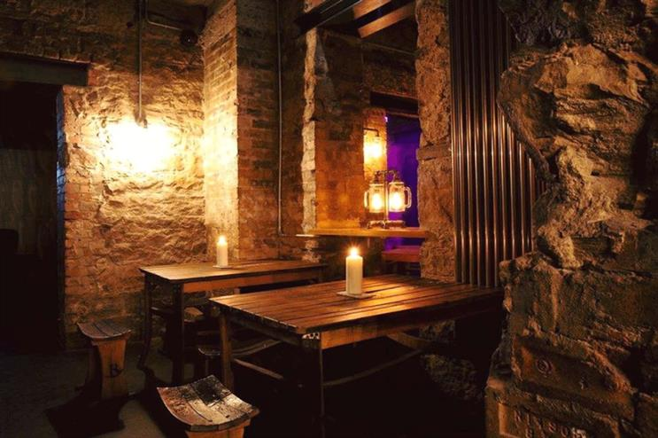Game of Thrones-themed bar in Edinburgh