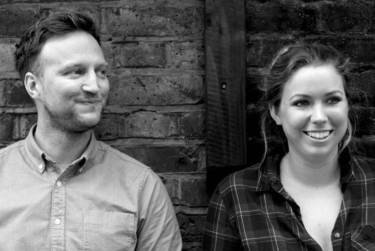 From left: Gareth Saunders, global marketing director, Salt, and Charlotte McIntosh, marketing manager for Salt EMEA