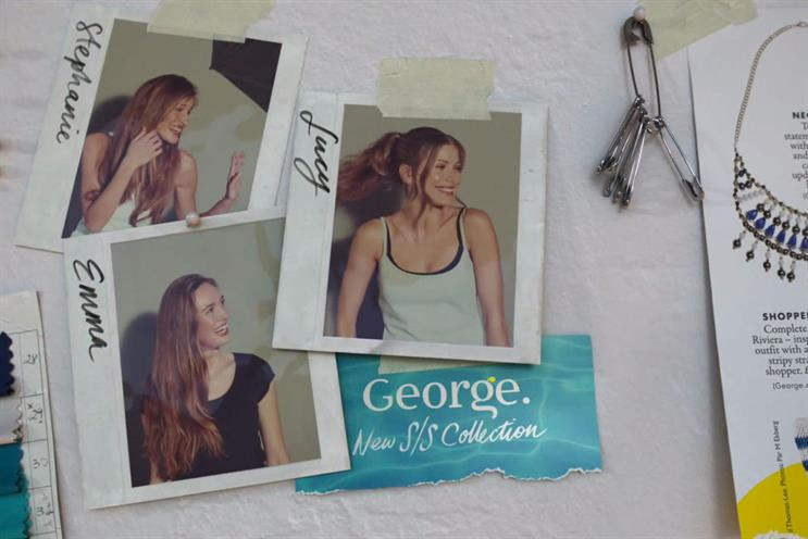 George: Saatchi & Saatchi handles advertising along with the main Asda brand