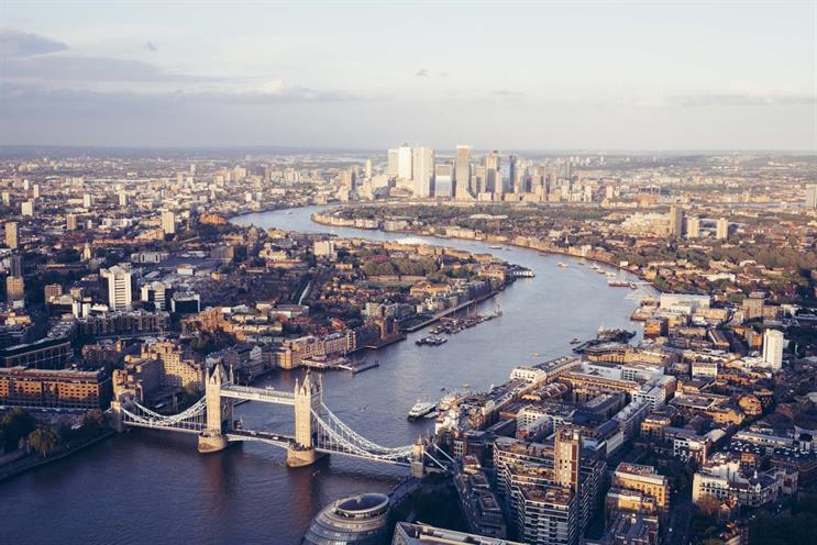 London: will Covid pandemic affect its dominance of adland? Photo: Gary Yeowell (Getty Images)