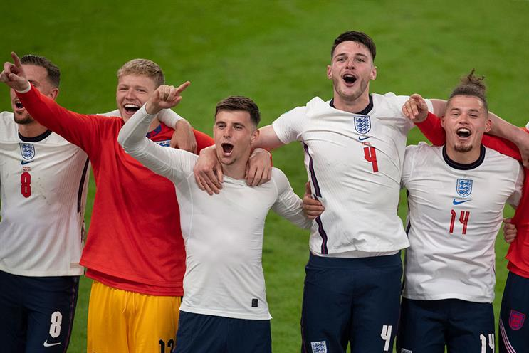 England's semi-final victory attracted 27.6m viewers at its peak [Visionhaus/Contributor/Getty Images]