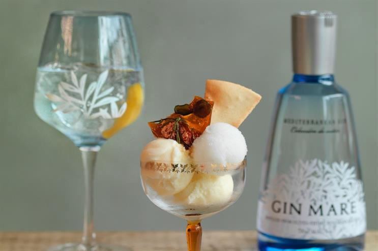 Gin Mare to launch gin & tonic ice cream parlour
