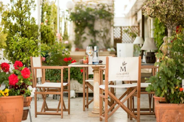 Gin Mare: creating a Mediterranean rooftop experience