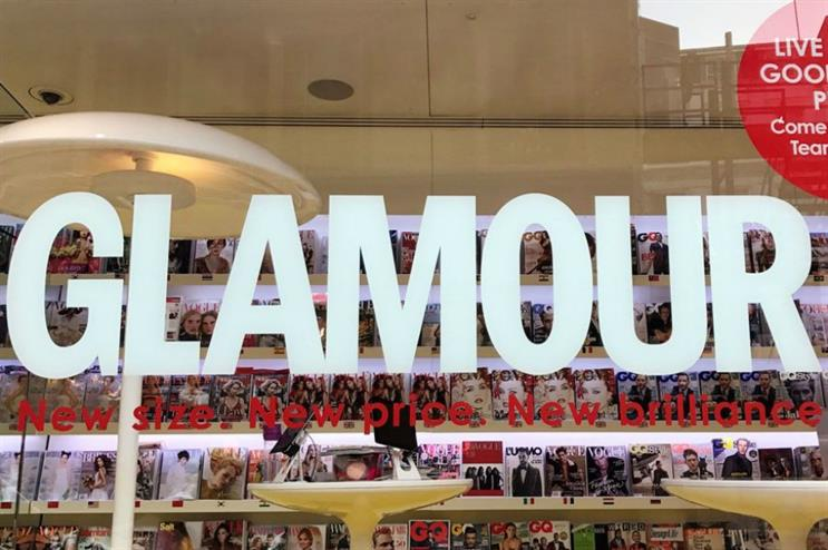 Glamour magazine: fashion and beauty pop-up