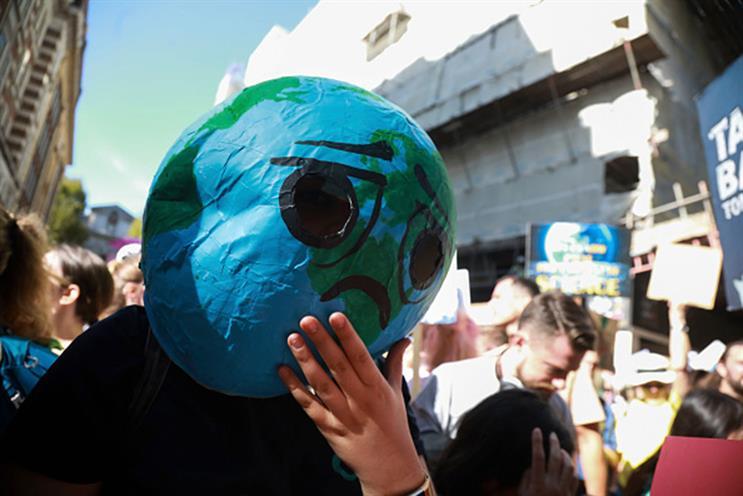 Global Climate Strike: took place last week (Getty Images)