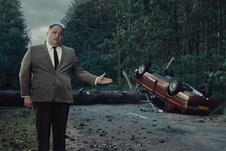 GoCompare: new ad re-enacts apparently real car accident