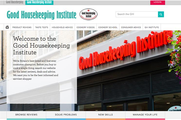 launches Good Housekeeping Institute online