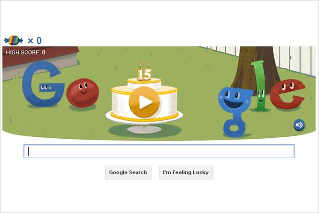 Google: celebrates its 15th anniversary