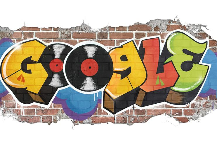 Googe's hip hop doodle was one of its most successful ever