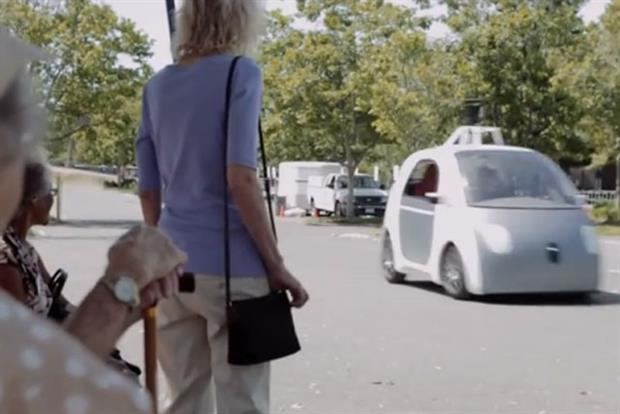 Google: First Drive self-driving car video