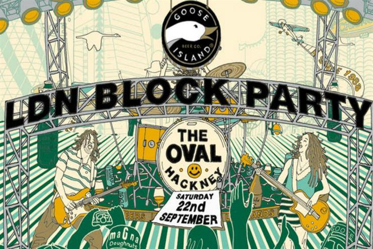 Goose Island to stage London party