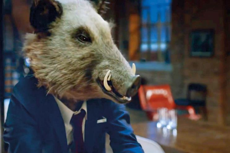 Gordon's: 'Gordon the boar' campaign launched in December