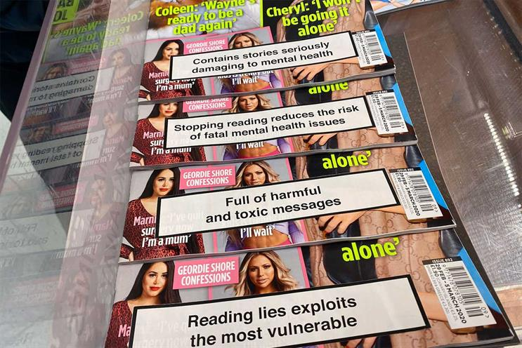 Gossip mags: Wonderhood duo created warning labels